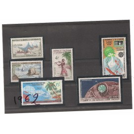 NOUVELLE CALEDONIE ** 1962 ANNEE COMPLETE MNH