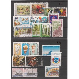 NOUVELLE CALEDONIE ** 1984 ANNEE COMPLETE MNH