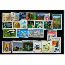 NOUVELLE CALEDONIE ** 1986 ANNEE COMPLETE MNH
