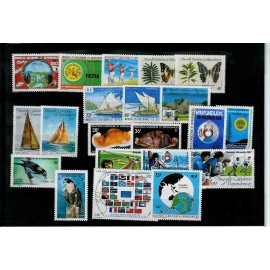 NOUVELLE CALEDONIE ** 1987 ANNEE COMPLETE MNH