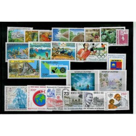 NOUVELLE CALEDONIE ** 1988 ANNEE COMPLETE MNH