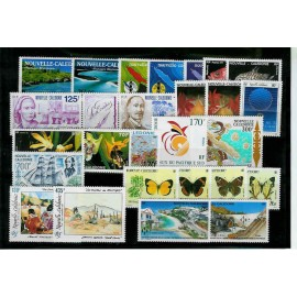NOUVELLE CALEDONIE ** 1991 ANNEE COMPLETE MNH