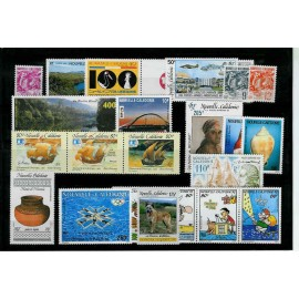 NOUVELLE CALEDONIE ** 1992 ANNEE COMPLETE MNH