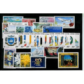NOUVELLE CALEDONIE ** 1993 ANNEE COMPLETE MNH