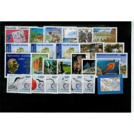 NOUVELLE CALEDONIE ** 1995 ANNEE COMPLETE MNH