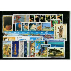 NOUVELLE CALEDONIE ** 1996 ANNEE COMPLETE MNH