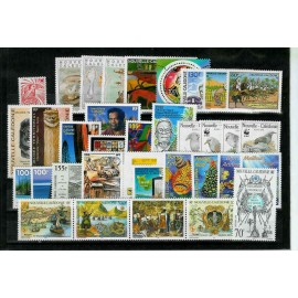 NOUVELLE CALEDONIE ** 1998 ANNEE COMPLETE MNH