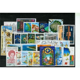 NOUVELLE CALEDONIE ** 2000 ANNEE COMPLETE MNH