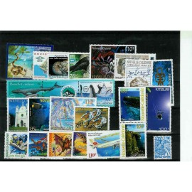 NOUVELLE CALEDONIE ** 2001 ANNEE COMPLETE MNH