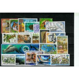 NOUVELLE CALEDONIE ** 2002 ANNEE COMPLETE MNH