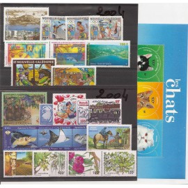 NOUVELLE CALEDONIE ** 2004 ANNEE COMPLETE MNH