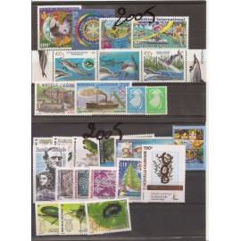 NOUVELLE CALEDONIE ** 2005 ANNEE COMPLETE MNH
