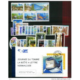 NOUVELLE CALEDONIE ** 2007 ANNEE COMPLETE MNH