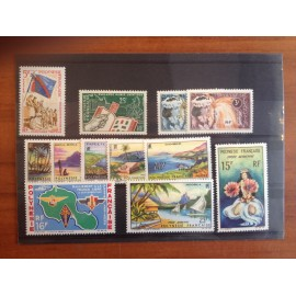 Polynesie annee complete 1964 ** MNH