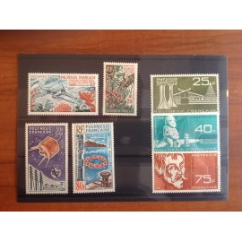 Polynesie annee complete 1965 ** MNH