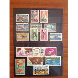 Polynesie annee complete 1966 ** MNH
