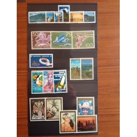 Polynesie annee complete 1974 ** MNH