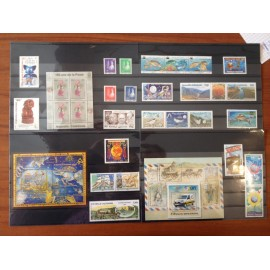 NOUVELLE CALEDONIE ** 2009 ANNEE COMPLETE MNH sauf 1072, 1085,
