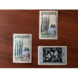 NOUVELLE CALEDONIE Num 284-286 ** MNH ANNEE 1955 Serie