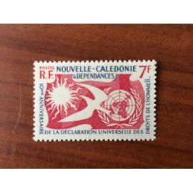 NOUVELLE CALEDONIE Num 290 ** MNH ANNEE 1958 Droit de l'homme