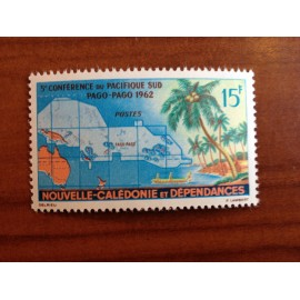 NOUVELLE CALEDONIE Num 305 ** MNH ANNEE 1962 Pago Pago