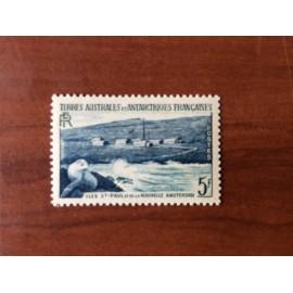 TAAF Yvert Num 4 Otarie  ANNEE 1956