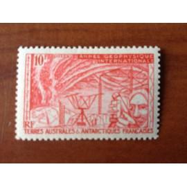 TAAF Yvert Num 9 Année Géophysique Internationale ANNEE 1957