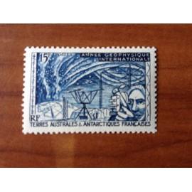 TAAF Yvert Num 10 Année Géophysique Internationale ANNEE 1957