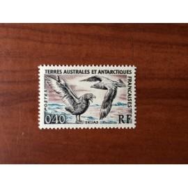TAAF Yvert Num 13 Skuas Birds Oiseaux ANNEE 1959