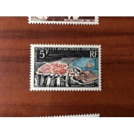 TAAF Yvert Num 20 Archipel Crozet ANNEE 1963