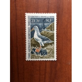 TAAF Yvert Num 24 Oiseaux Birds Albatros  ANNEE 1968