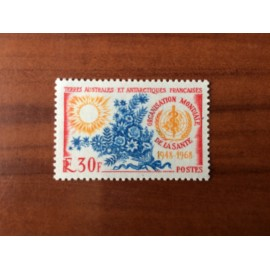 TAAF Yvert Num 26 OMS ANNEE 1968