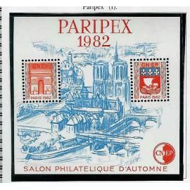 Bloc CNEP Num 3 Yvert ** PARIS PONTS 1982