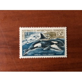 TAAF Yvert Num 30 Orque Iles Crozet ANNEE 1969