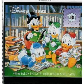 Bloc CNEP Num 16 Yvert ** Disney