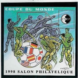 Bloc CNEP Num 26 Yvert ** coupe du monde 1998