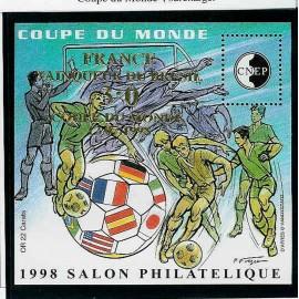 Bloc CNEP Num 27 Yvert ** coupe du monde 1998