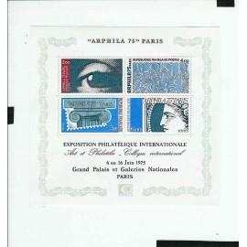 France Bloc num Yvert 7 ** MNH 1975 Arphila