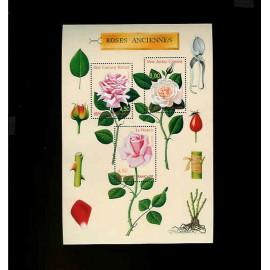 France Bloc num Yvert 24 ** MNH 1999 Roses