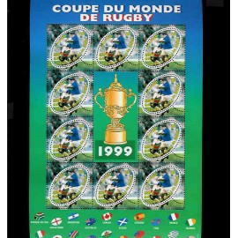 France Bloc num Yvert 26 ** MNH 1999 Rugby