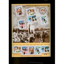 France Bloc num Yvert 29 ** MNH 2000 Siecle Sport
