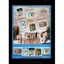 France Bloc num Yvert 32 ** MNH 2000 Siecle La société
