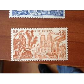Wallis et Futuna  PA 9 ** MNH sans charniere année 1946