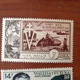 Wallis et Futuna  PA 14 ** MNH sans charniere année 1954