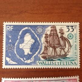 Wallis et Futuna  PA 17 ** MNH sans charniere année 1955