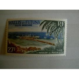 Wallis et Futuna  PA 23 ** MNH sans charniere année 1965 Plage