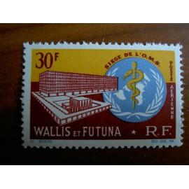 Wallis et Futuna  PA 27 ** MNH sans charniere année 1966 OMS