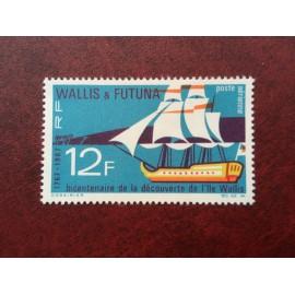 Wallis et Futuna  PA 31 ** MNH sans charniere année 1967 Bateau