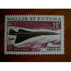 Wallis et Futuna  PA 32 ** MNH sans charniere année 1969 Concorde