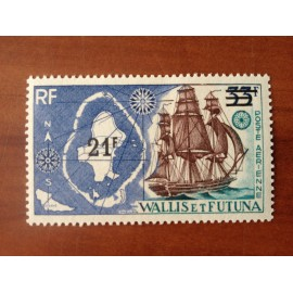 Wallis et Futuna  PA 38 ** MNH sans charniere année 1971 surcharge